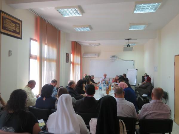 تربية بيت لحم تعقد اجتماعا لمديري المدارس الخاصة
