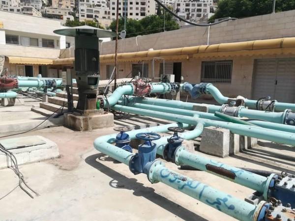 بلدية نابلس على أعتاب مشروع شريان الحياة الحيوي وصيف بلا أزمة في المياه