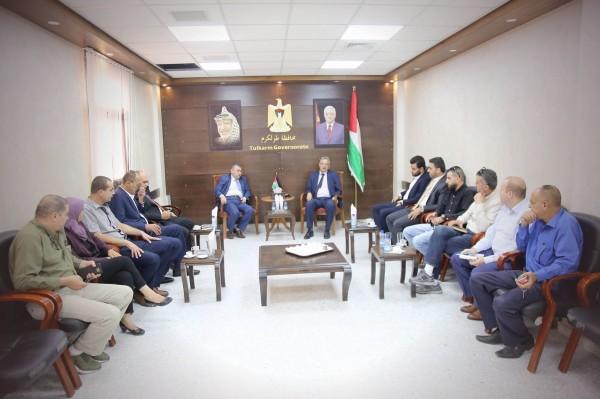 محافظة طولكرم تستضيف اجتماعا وورشة عمل لهيئة تسوية الأراضي والمياه