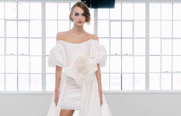 10acb7e88 صور: مجموعة فساتين زفاف Marchesa لخريف 2018 | دنيا الوطن