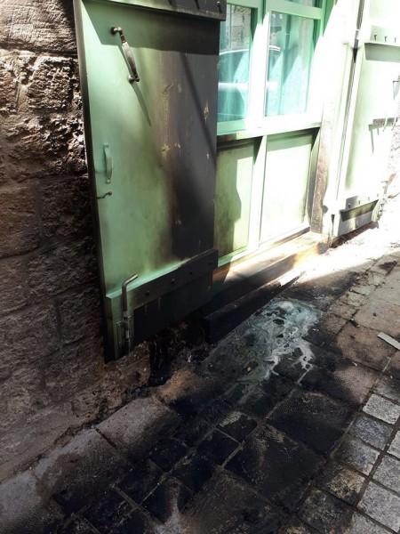 وليد عفيفي يدين الإعتداء الأثم على مكاتب مُزيّن في سوق الناصرة