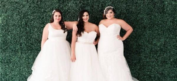 """فساتين زفاف مُناسبة للعروس ذات الجسد الـ""""كيرفي"""""""