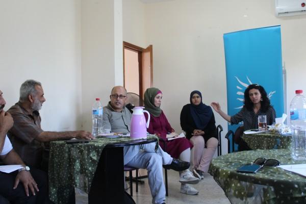 مؤسسة لوجيكا تعقد ورشه مع التربية والتعليم العالي في طولكرم