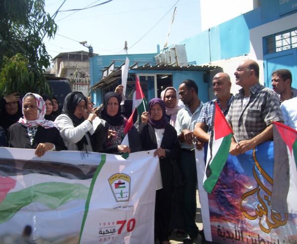 (أونروا) تُعلن إنحيازها الكامل لجانب الحقوق الانسانية للاجئين الفلسطينيين