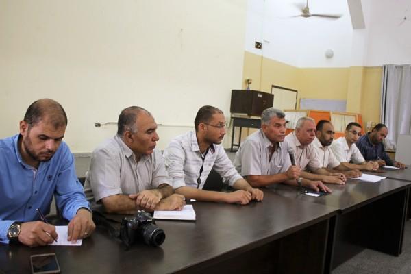 مديرية شمال غزة تعقد اجتماعاً لضامني المقاصف المدرسية