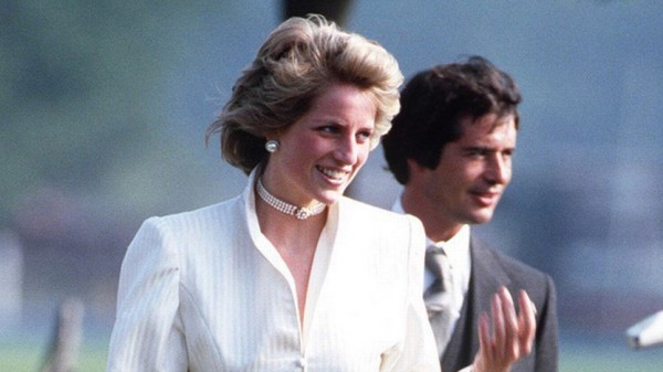 They were found naked behind a tree and carried away .. The death of Princess Diana's most mysterious lover