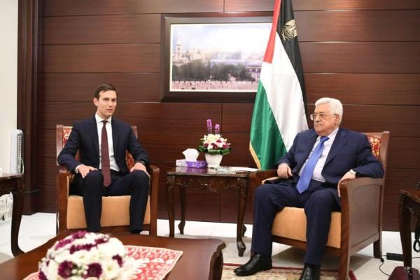 الرئاسة الفلسطينية ترد على كوشنر: تصريحاته تنم عن جهل