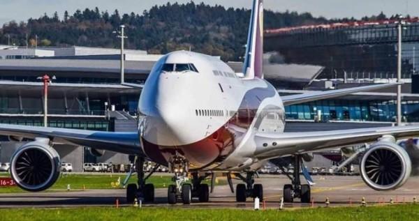 صور: أمير قطر يهدي أردوغان طائرة ثمنها 400 مليون دولار