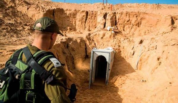 (هآرتس): الجدار الأرضي على حدود غزة لن ينهي تهديد الأنفاق