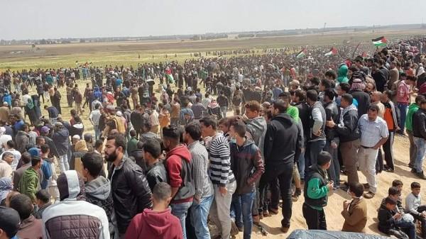 """هيئة العودة: فعاليات الجمعة المقبلة ستكون بعنوان """"كسر الحصار عن غزة"""""""