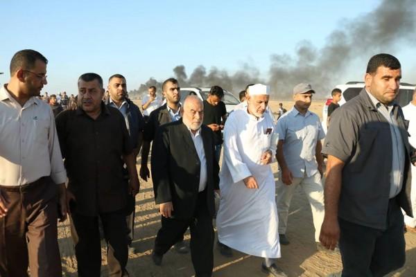 بحر: المقاومة خيارنا الاستراتيجي للتحرير ومسيرات العودة أحد أدواتها