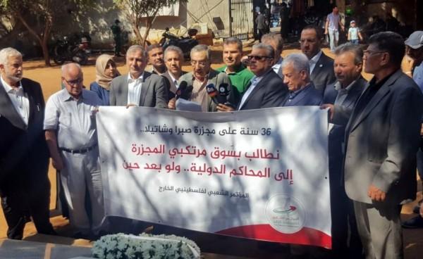 """المؤتمر الشعبي لفلسطينيي الخارج يطلق حملة: """"لا للتوطين، ولن نتنازل عن حق العودة"""""""