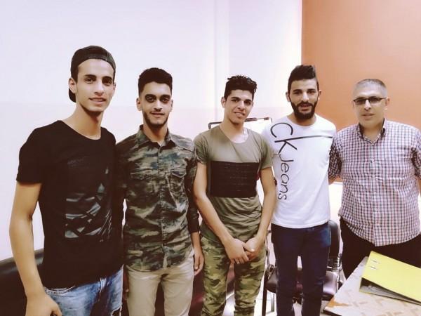 """اتحاد الشباب الديمقراطي الفلسطيني """"أشد"""" يزور مدارس الانروا في مخيم نهر البارد"""