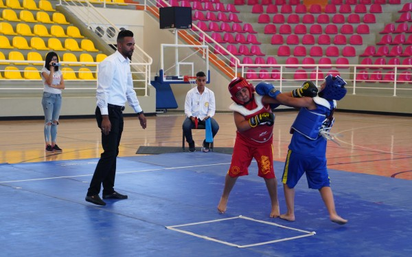 الجامعة العربية الامريكية تستضيف البطولة الوطنية للبراعم في الكونغ فو