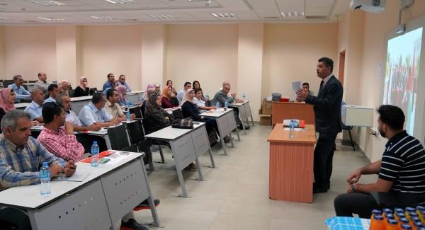 الجامعة العربية الامريكية تنظم لقاء تعريفيا بمراكز تأهيل الأطفال والعلاج المائي للمؤسسات الحكومية والأهلية