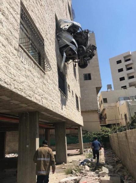 وفاة مواطنيْن بحادث سير وقع في نابلس ظهر اليوم