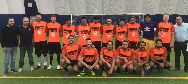 فريق المجلس الفلسطيني الأمريكي يفتتح أولى مشاركاته في الدوري الرياضي العام في شيكاغو
