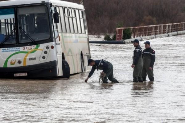 فيديو: فيضانات مُرعبة تضرب تونس وتُخلف خسائر بشرية ومادية