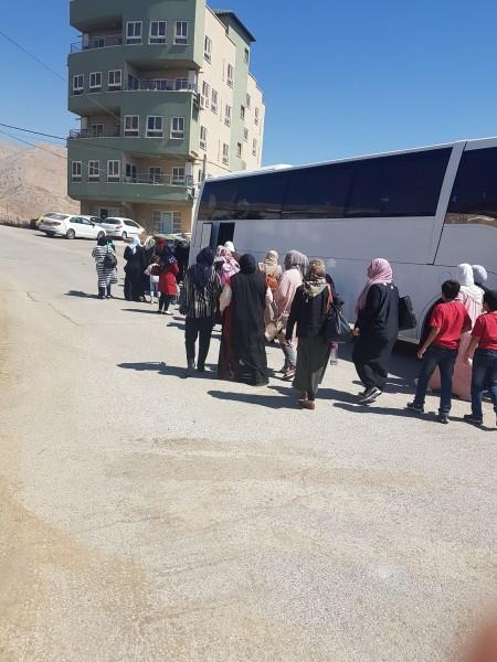 المركز النسوي الثوري بسلوان يقيم رحلة ثقافية للجولان