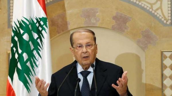 الرئيس عون: إذا لم يتعرض لبنان لأي اعتداء إسرائيلي لن نوجه طلقة واحدة