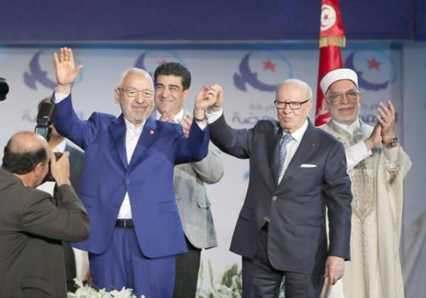 الرئيس التونسي يُعلن الطلاق الرسمي ما بين النهضة والنداء