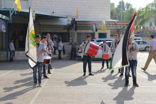 تربية قلقيلية تنظم سلسلة فعاليات دعما وإسناداً للرئيس محمود عباس