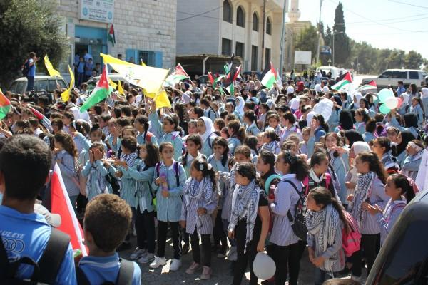 بلديــة بيتونيا تُنظم مهرجان الدعم والتأييد للرئيس نحو اقامة الدولـة وعاصمتها القدس