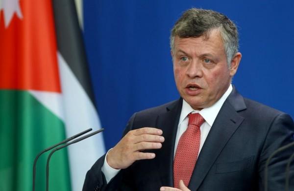 العاهل الأردني: حل الدولتين الوحيد لإنهاء الصراع الفلسطيني الإسرائيلي