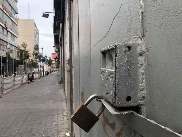 . الإضراب الشامل يَعمُّ الأراضي الفلسطينية 9998913269