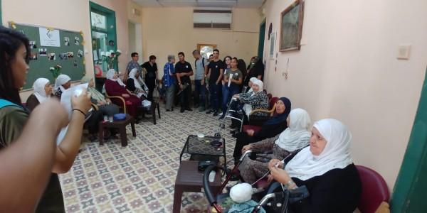 تكريم المسنين بيومهم العالمي الجماهيري في الرملة