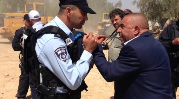 أبو عرار: سياسة هدم البيوت لن تردعنا عن مطالبتنا بحقنا بأرضنا