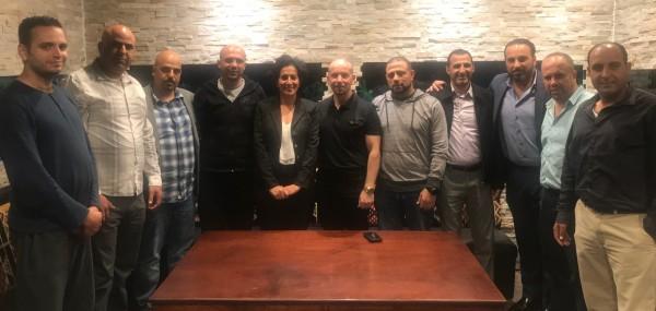 النادي الفلسطيني الأمريكي في شيكاغو يستقبل مدير عام ماراثون فلسطين
