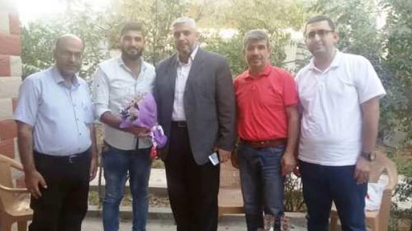 الإعلام الحكومي يزور الصحفيين المصابين خلال مسيرة العودة