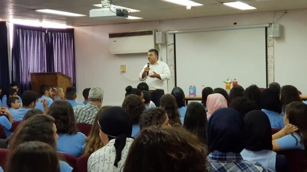 النائب جبارين يلتقي مئات الطلاب العرب حول نضال الجماهير العربية