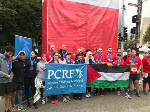 مشاركة فلسطينية مميزة في ماراثون شيكاغو الدولي
