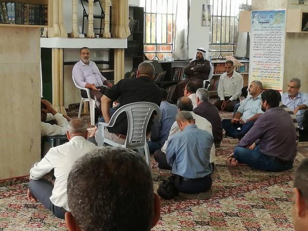 أوقاف جنين تعقد اجتماعا للائمة والخطباء والمؤذنين