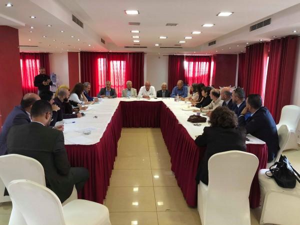 الامانة العامة للاتحاد العام للاقتصادين الفلسطينيين يعقد اجتماعاً هاماً