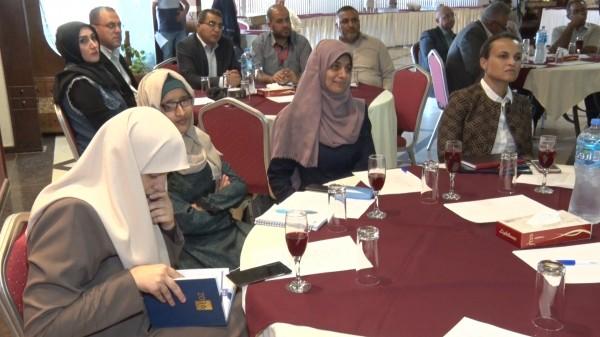 شاهد: ائتلاف أمان تعقد لقاءً حول الموازنة الفلسطينية العامة