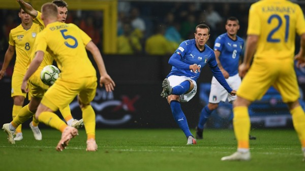 أوكرانيا تفرض التعادل الإيجابي على إيطاليا في مباراة ودية