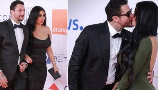 """أحمد الفيشاوي يُعلّق على تقبيل زوجته بمهرجان الجونة: """"لم أتعمد"""""""