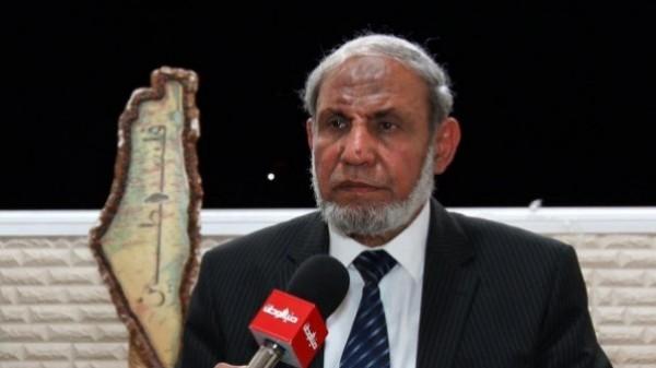 """الزهار: المصالحة لن تتم في عهد """"أبو مازن"""" وسنحاكمه بعد تحرير فلسطين"""