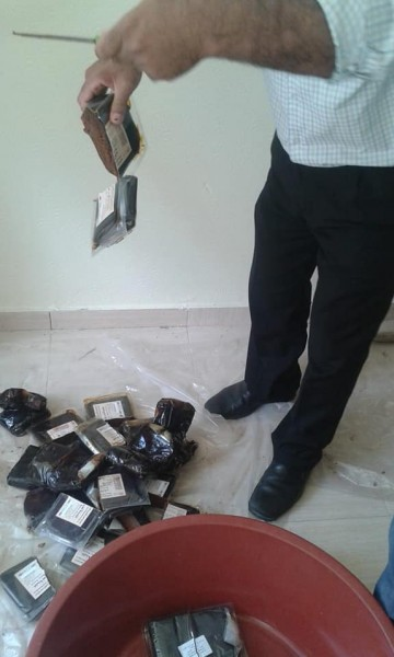 صور: ضبط وإتلاف 216 كجم معجون تمر منتهي الصلاحية في خانيونس