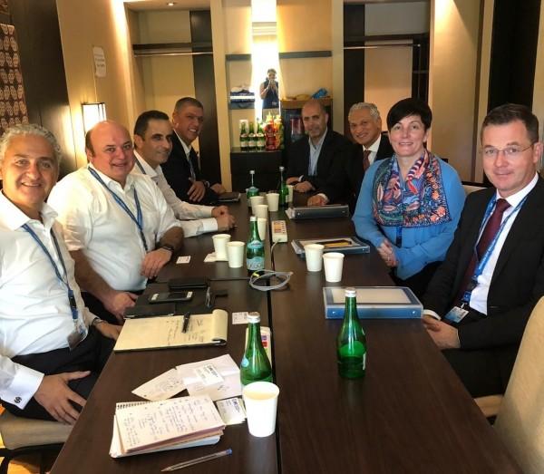 الشوا يشارك في الاجتماعات السنوية لصندوق النقد والبنك الدوليين