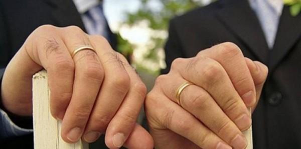 شاهد مراسم الزفاف: أحدهما نجل وزير أسبق.. مثليان لبنانيان يثيران جدلًا واسعًا بعد زواجهما