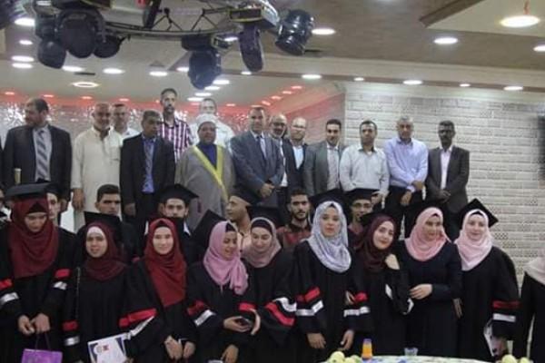 وزير الأوقاف يُكرم طلبة العلوم الشرعية
