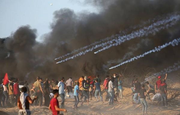 بجمعة (انتفاضة القدس).. سبعة شهداء و252 اصابة برصاص الاحتلال شرق القطاع