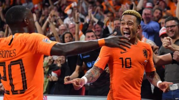 شاهد: المنتخب الألماني يتلقى هزيمة ثقيلة أمام هولندا في دوري الأمم الأوروبية