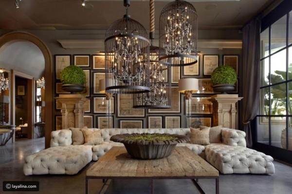 صور: غرفة الجلوس أكثر فخامة في منزلك بهذه الخطوات