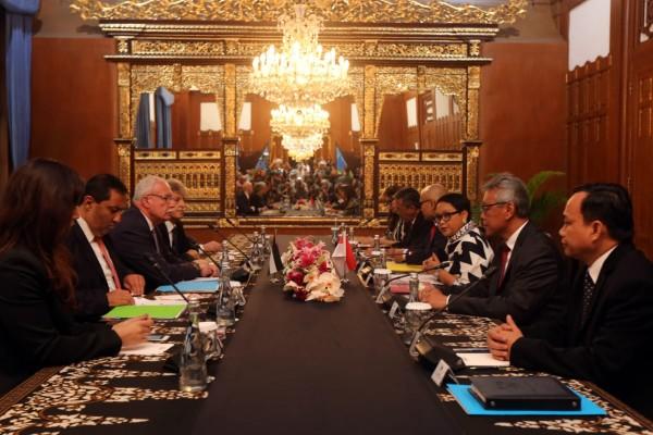 المالكي ونظيرته الاندونيسية يترأسان الجولة الأولى من المشاورات الثنائية السياسية على المستوى الوزاري
