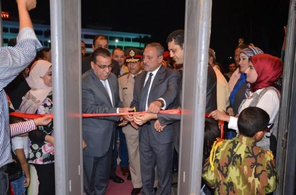 محافظ الاسماعيلية يشهد احتفالية الثقافة بالعيد القومى للمحافظة